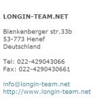 Impressum Longin Team Henef