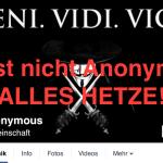 Anonymous Kollektiv – Fake – Falsche Anonymous Facebook Seite