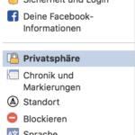 Facebook Privatsphäre – Einstellungen und Sicherheit