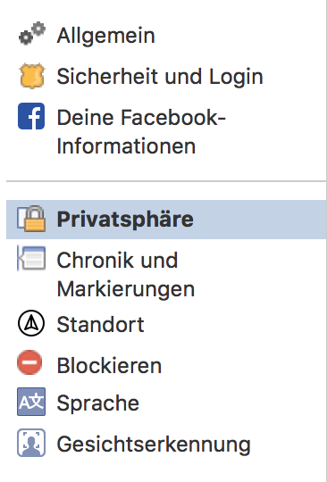 Facebook Privatsphäre - Wer kann dir Freundschaftsanfragen senden
