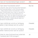 Facebook Privatsphäre – Wer kann dir Freundschaftsanfragen senden