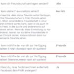 Facebook Privatsphäre – Wer kann mithilfe der von dir zur Verfügung gestellten Telefonnummer nach dir suchen