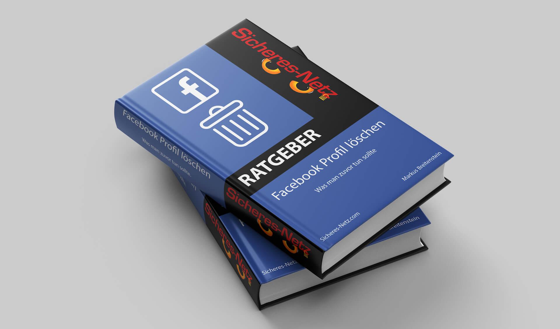 Facebook Profil löschen - Was man zuvor tun sollte
