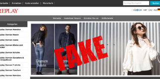Fakeshop - Fake-Shop Replayonlinesale.de - Replay - Zalando