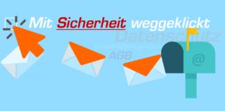 Mit Sicherheit weggeklickt - Sicheres-Netz - Datenschutz - AGB - Teilnahmebedingungen - Gewinnspiele - dubiose Portale