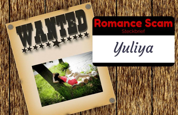 Yuliya Romance Scam Russland - Mail Yandex.ru