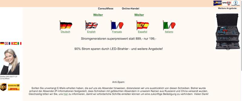 SPAM-Mail - Rainer Busch - LED mit Ihrem Code
