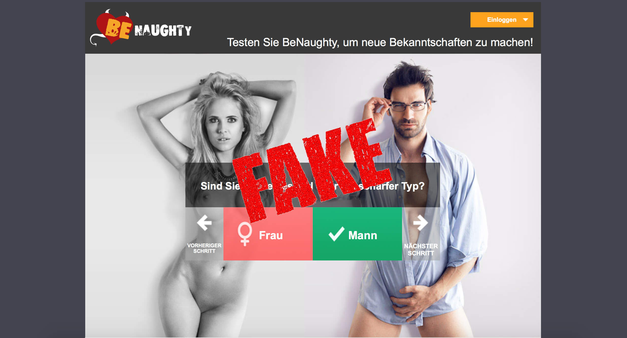 Fake Spam - benaughty.com