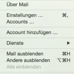 Spam Schutz auf Apple Mail einrichten – Einstellungen